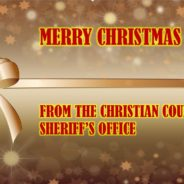 Christmas Message from Sheriff Cole