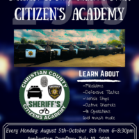 2019 Christian County Sheriff's Office Citizens Academy
